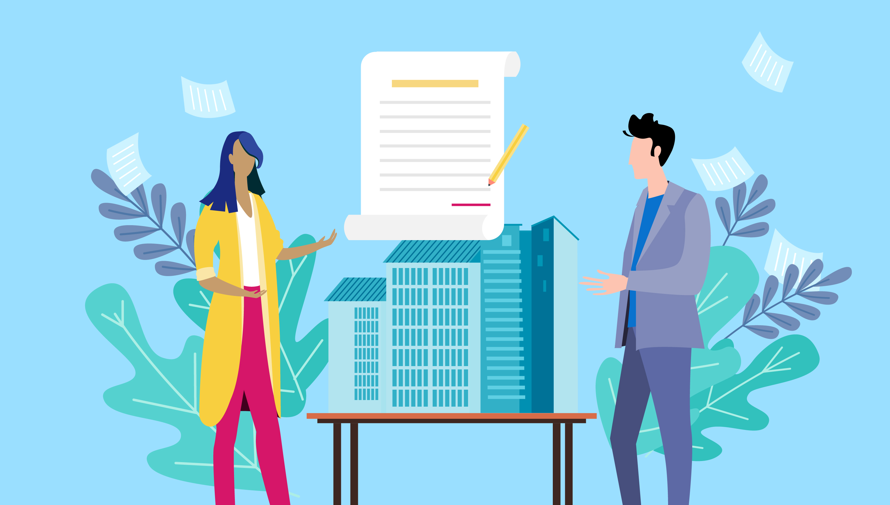 Contract Negotiation strategy is crucial during a transaction between two parties in a real estate procurement process.