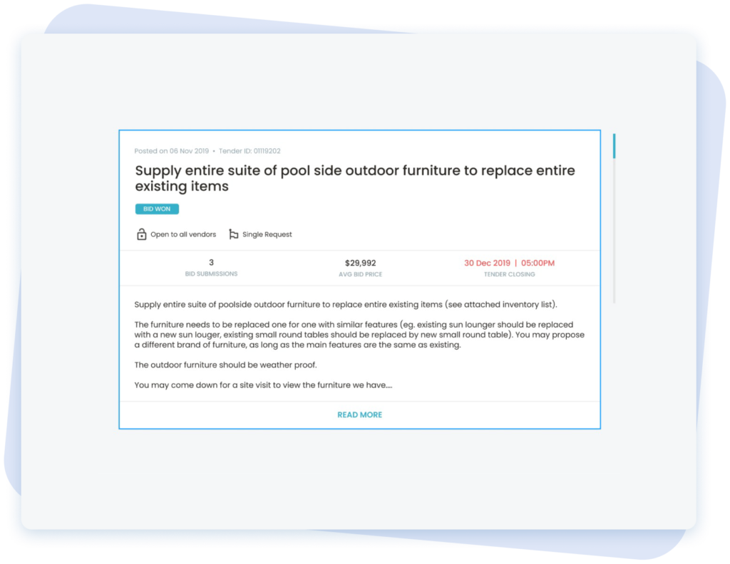 Sample of E-sealed Envelope Feature